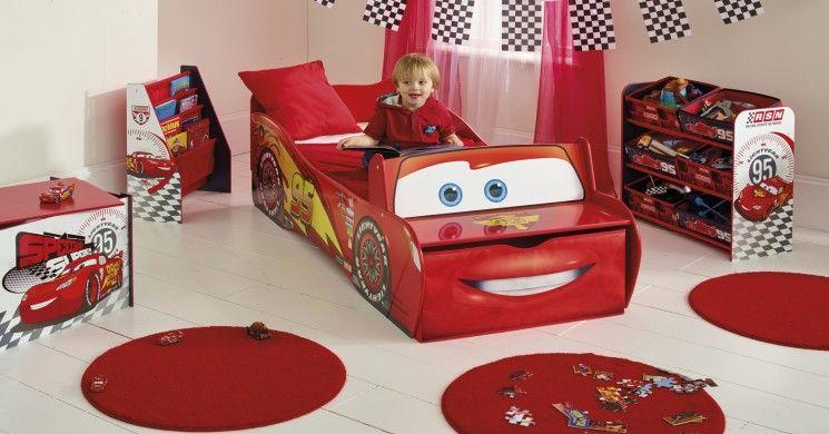 Letto Carrozza Disney : Cameretta per bamini #disney #cars con #lettino sagomato a forma di