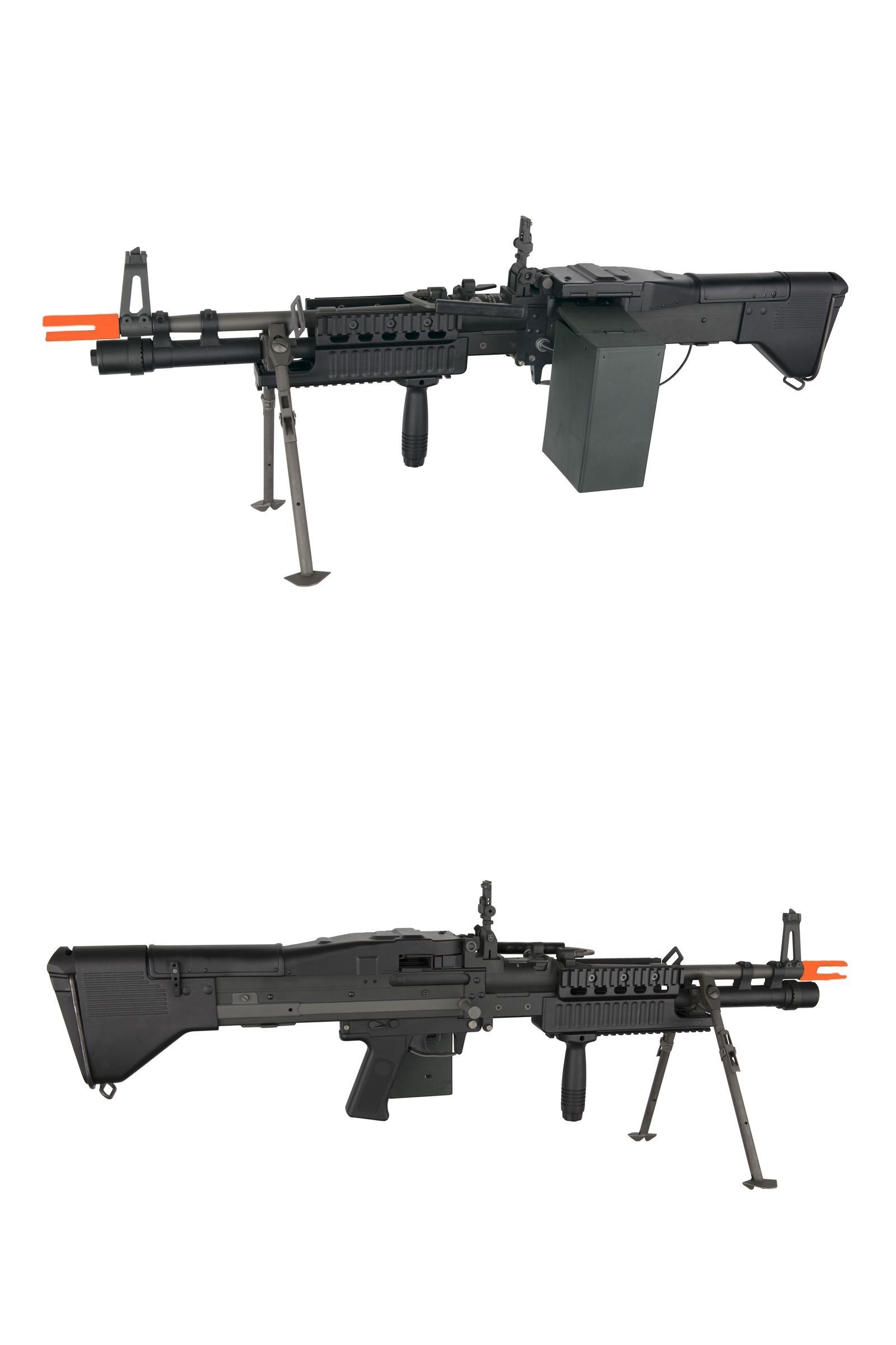 8403173c4600 Rifle 160919: Asg Airsoft U.S. Ordnance M60e4 Mk43 Commando Machine Gun  Metal M60 Aeg Rifle -> BUY IT NOW ONLY: $389.95 on eBay!