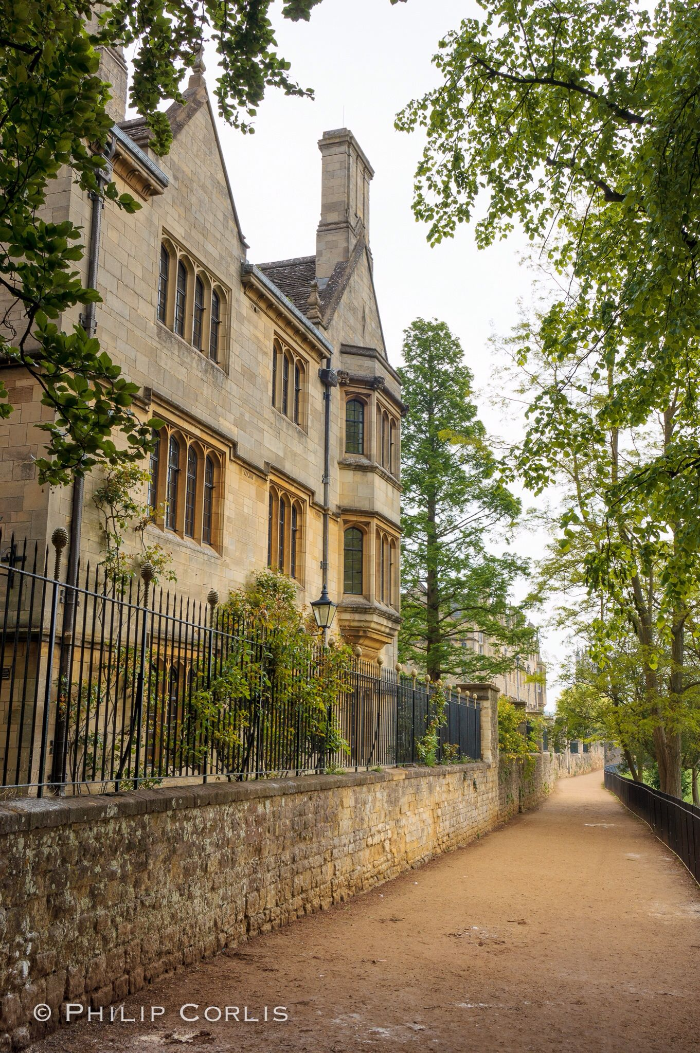 Behind Merton College, Oxford, England. Oxford england