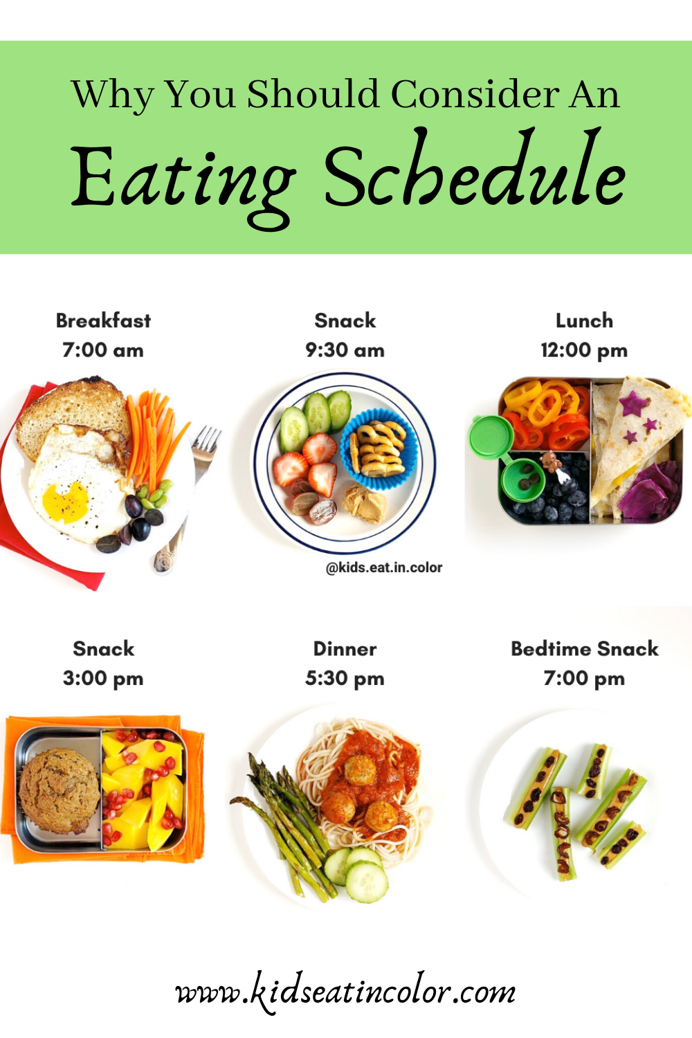 Eating Schedules Help Picky Eaters Nutrition For Kids Healthy Daily Meals Eating Schedule Healthy Eating Schedule