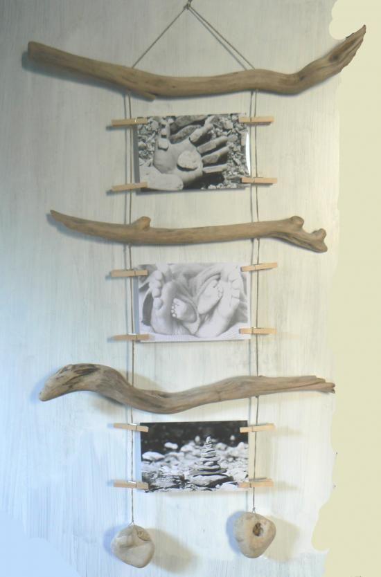 Cadres en bois flotté