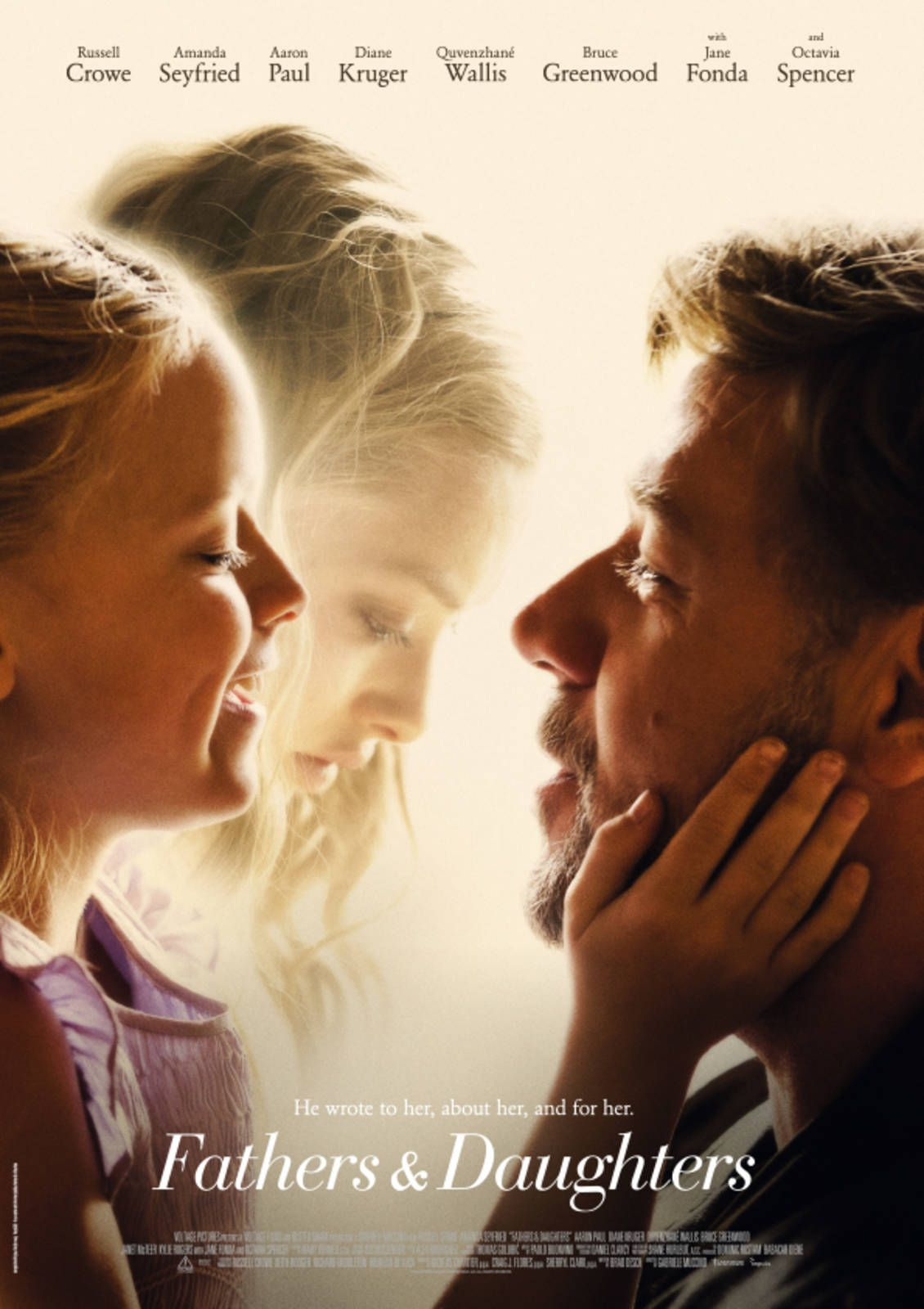 Fathers Daughters 2015 The Daughter Movie Father Daughter Father