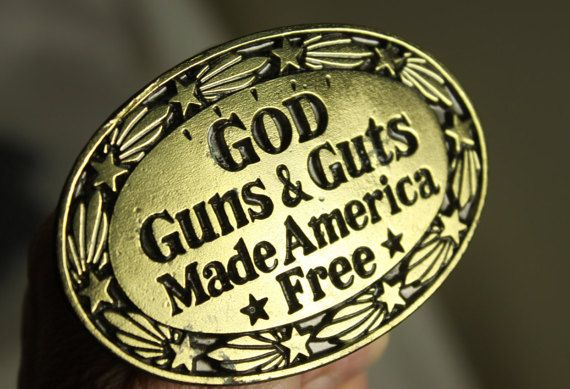 God Guns Guts Made America Free Hat Mens Vintage Washed Personalized Hats