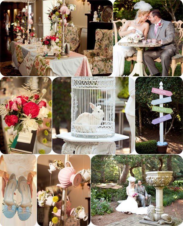 Afficher l 39 image d 39 origine mariage alice pinterest - Alice in wonderland outdoor decorations ...