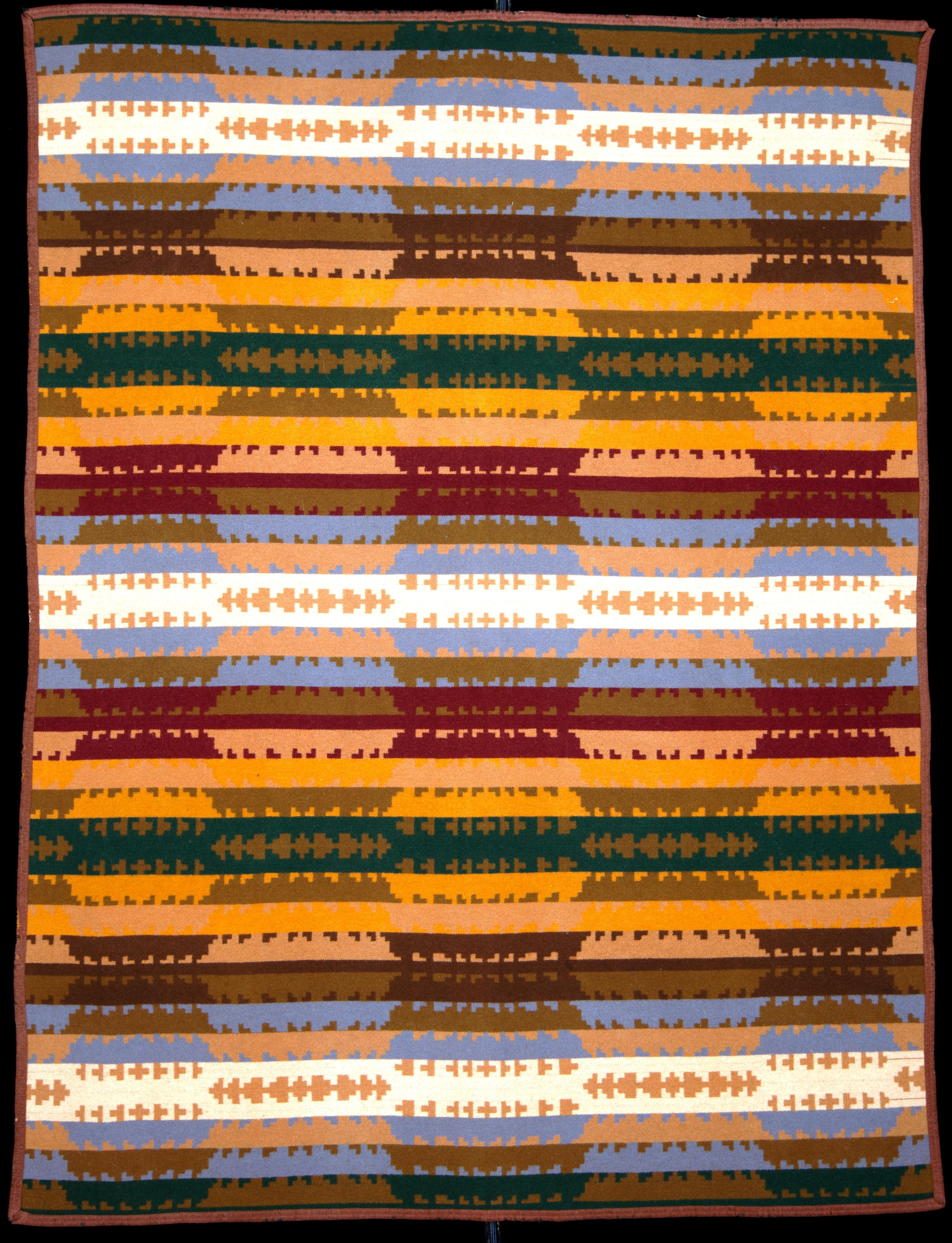 Capps Navajo Pattern Variant C 1913 The Capps Mill Was In