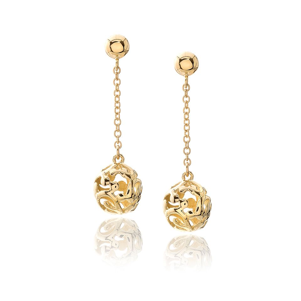 Gold Drop Earrings Earrings Pinterest