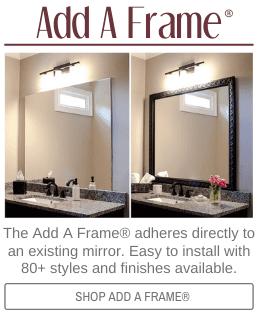 Easy Diy Bathroom Updates My Life And Kids Bathroom Mirrors Diy Bathroom Mirror Frame Mirror Frame Diy