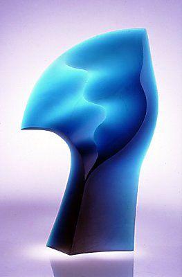 Latchezar Boyadjiev - Contemporary Abstract Glass Sculptures - Grace