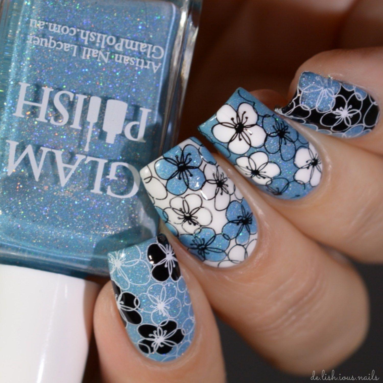 Lina Nail Art Supplies Stamping Designs Make Your Mark 04 | Nailing ...