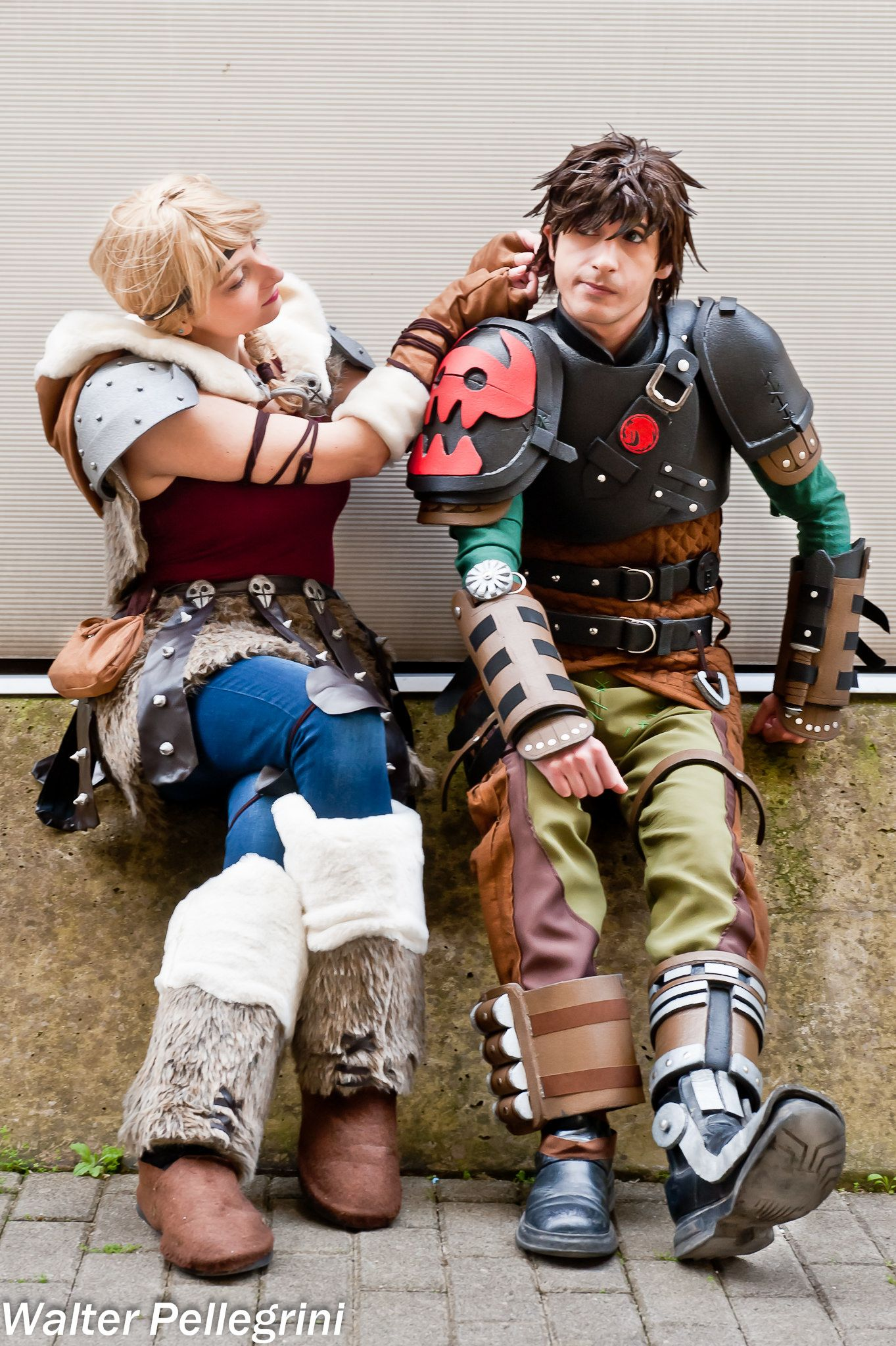 How to Train Your Dragon  cosplay at Romics XVII - PC  Walter Pellegrini 7fe878575219