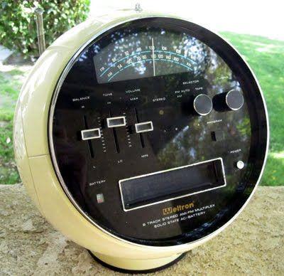 Vintage Ball Stereo Retro Space Helmet Radio Vintage Space Retro Vintage