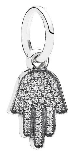Pandora Cubic Zirconia Silver Charms 791307CZ gRmq8LghJ