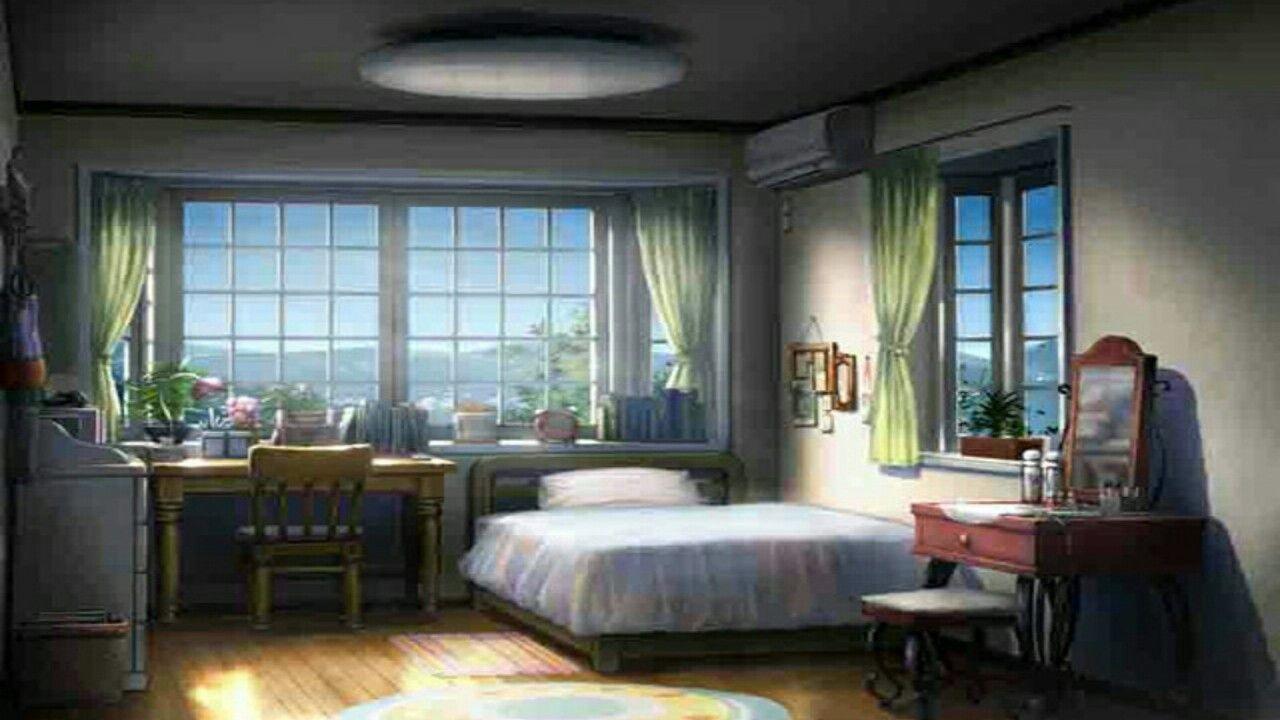 Princess Bedroom Anime Kids Bedroom Background Trendecors