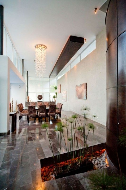 neomodern house design elegant interior design with marble floor