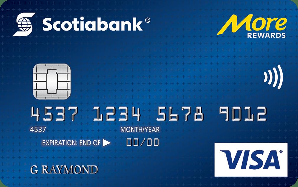 Scotiabank More Rewards Visa Card Visa Credit Card Credit Card