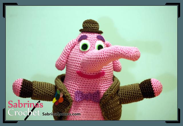 Crochet pattern Bing Bong | crochet baby toys
