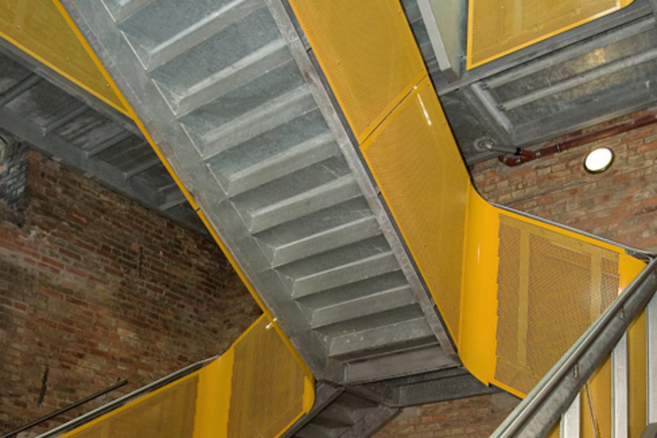 Best Balustrade Fillings With Perforated Panels Bismarcktower 400 x 300