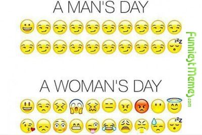 Funniest Memes - [A Man's Day Vs A Woman's Day...] Check more at http://www.funniestmemes.com/funniest-memes-a-mans-day-vs-a-womans-day/