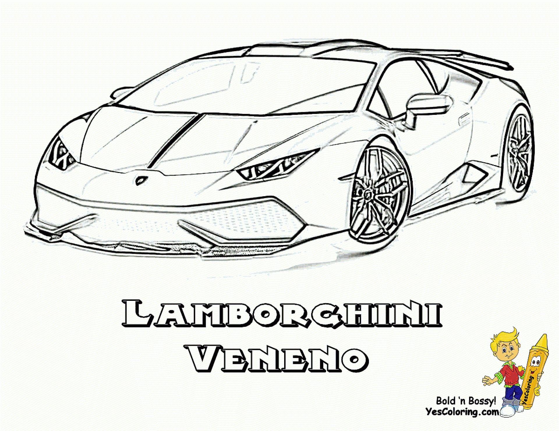 016 Disegni Da Colorare Cars Colorazione Ispiratrice Lamborghini