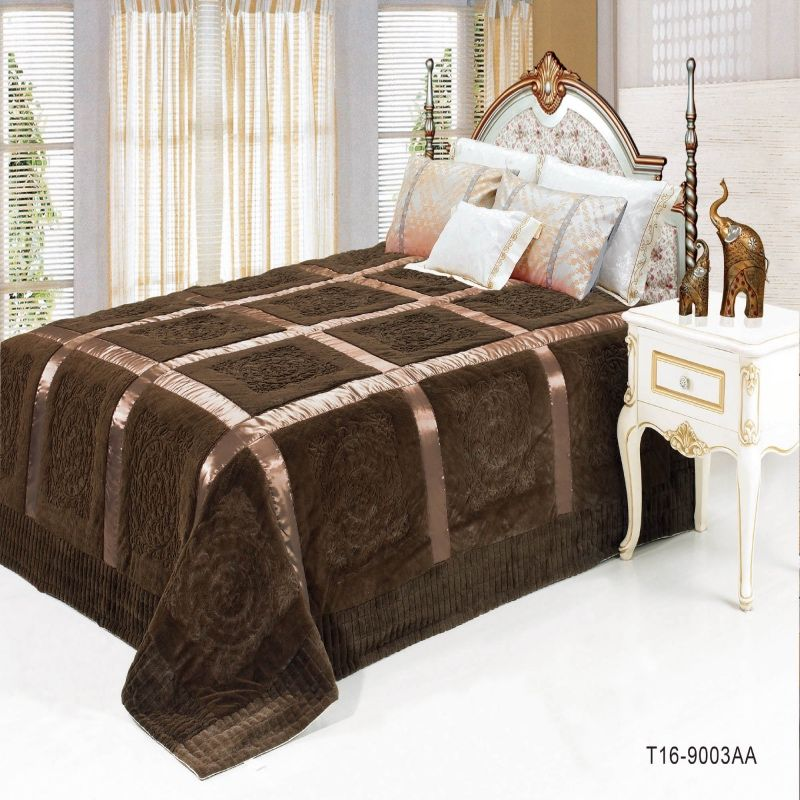 Russian coverlets Quilt thick bed Sheet bedspreads Bed Cover 220 ... : thick quilts for sale - Adamdwight.com