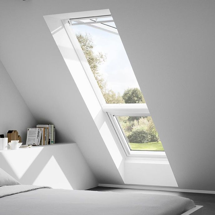 velux zusatzelemente giu dachschr ge fenster pinterest fenster dachfenster und haus. Black Bedroom Furniture Sets. Home Design Ideas