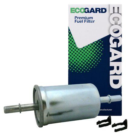 ecogard xf65481 engine fuel filter - premium replacement fits ford f-150,  explorer, mustang, f-250 super duty, explorer sport trac, edge, f-350 super  duty,