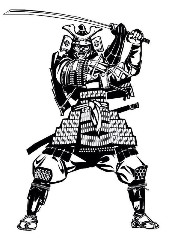 Power of East | Самурай, Татуировки и Моне