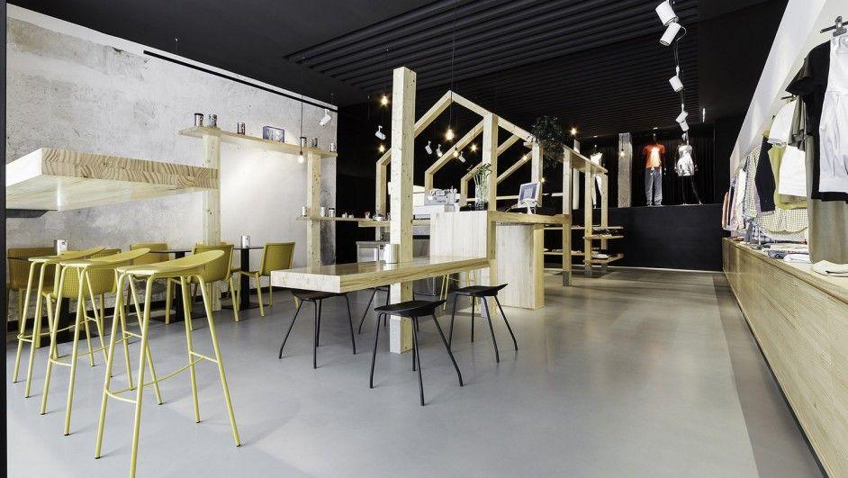 Inshopnia; imposible conciliar el sueño en esta casa-tienda de Vigo.