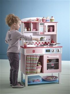 cuisine en bois grand chef natural kitchen vertbaudet enfant lana pinterest cuisine en. Black Bedroom Furniture Sets. Home Design Ideas