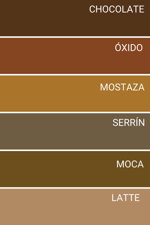 Gama De Colores Marrones Colores De Pintura Para Casa Pintar Fachadas De Casas Pinturas Para Exteriores De Casa