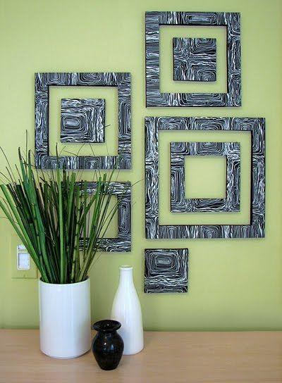 How About Orange Diy Wall Art From Foam Board Diy Wall