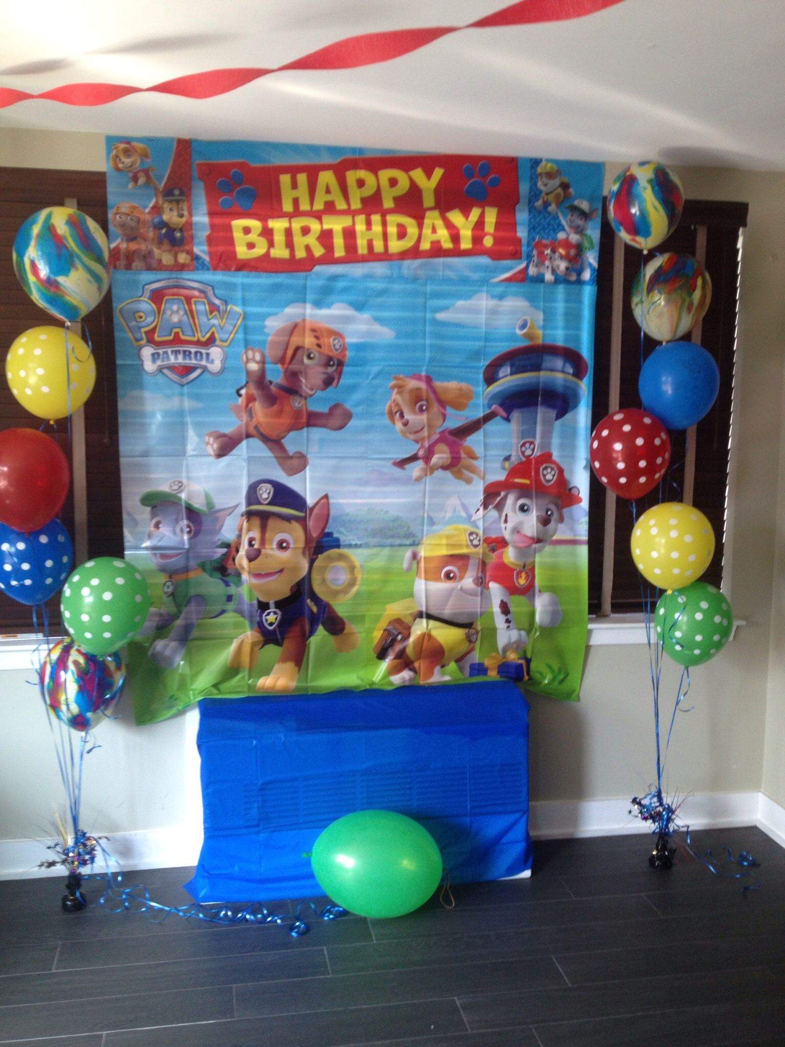 Details about PAW PATROL Scene Setter birthday party wall decor ...