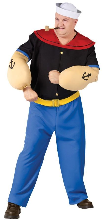 Awesome Costumes Popeye Costume just added Halloween - best halloween costume ideas for couples