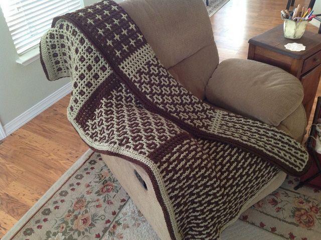 Crochet pattern, Black and white twenties style crochet