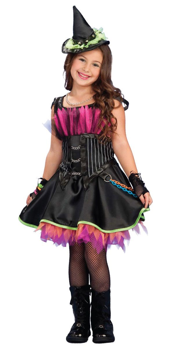 cute punk/witch girl costume.  sc 1 st  Pinterest & cute punk/witch girl costume. | Cutest Baby/Kid Halloween Costumes ...