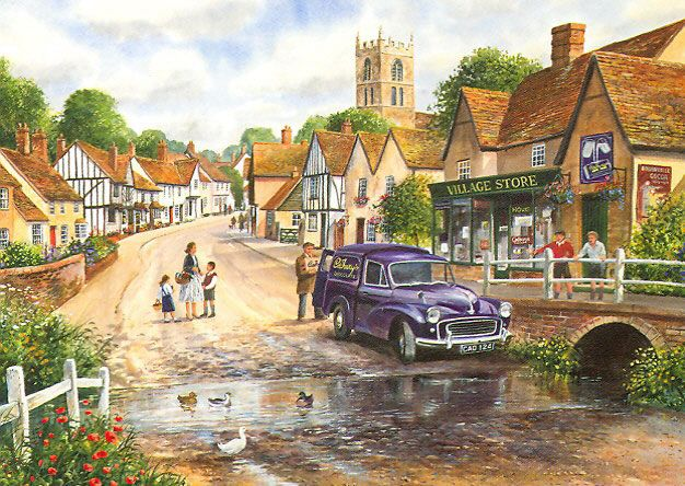 Castle Combe Jigsaw Puzzles Direct