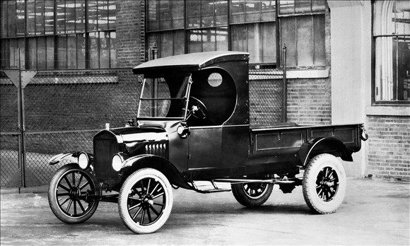 1925 Ford Model T Runabout With Pickup Body American Pickup