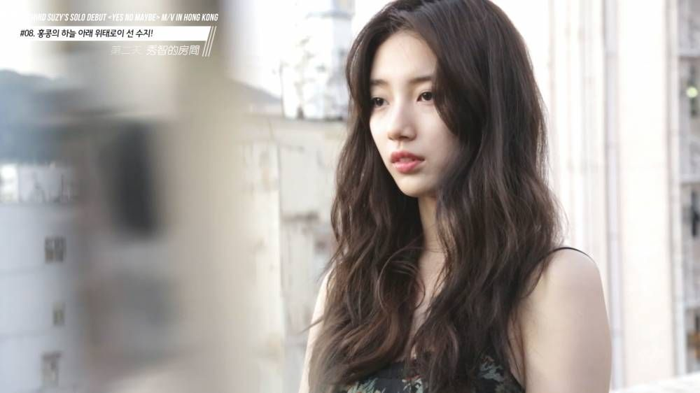 Go Behind The Scenes With Suzy For Yes No Maybe Mv Filming In Hong Kong Suzy Beauty Hair Styles