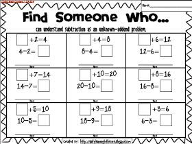 Freebie}Find Someone Who...help students practice Common Core Math ...
