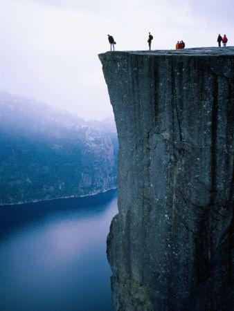 Preachers rock - Norway.