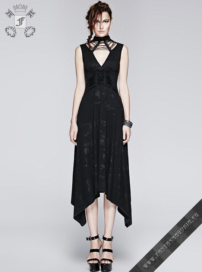 c58f3cdf3fb7 Q-252 Arya dress - Gothic Summer sleeveless dress by Punk Rave ...