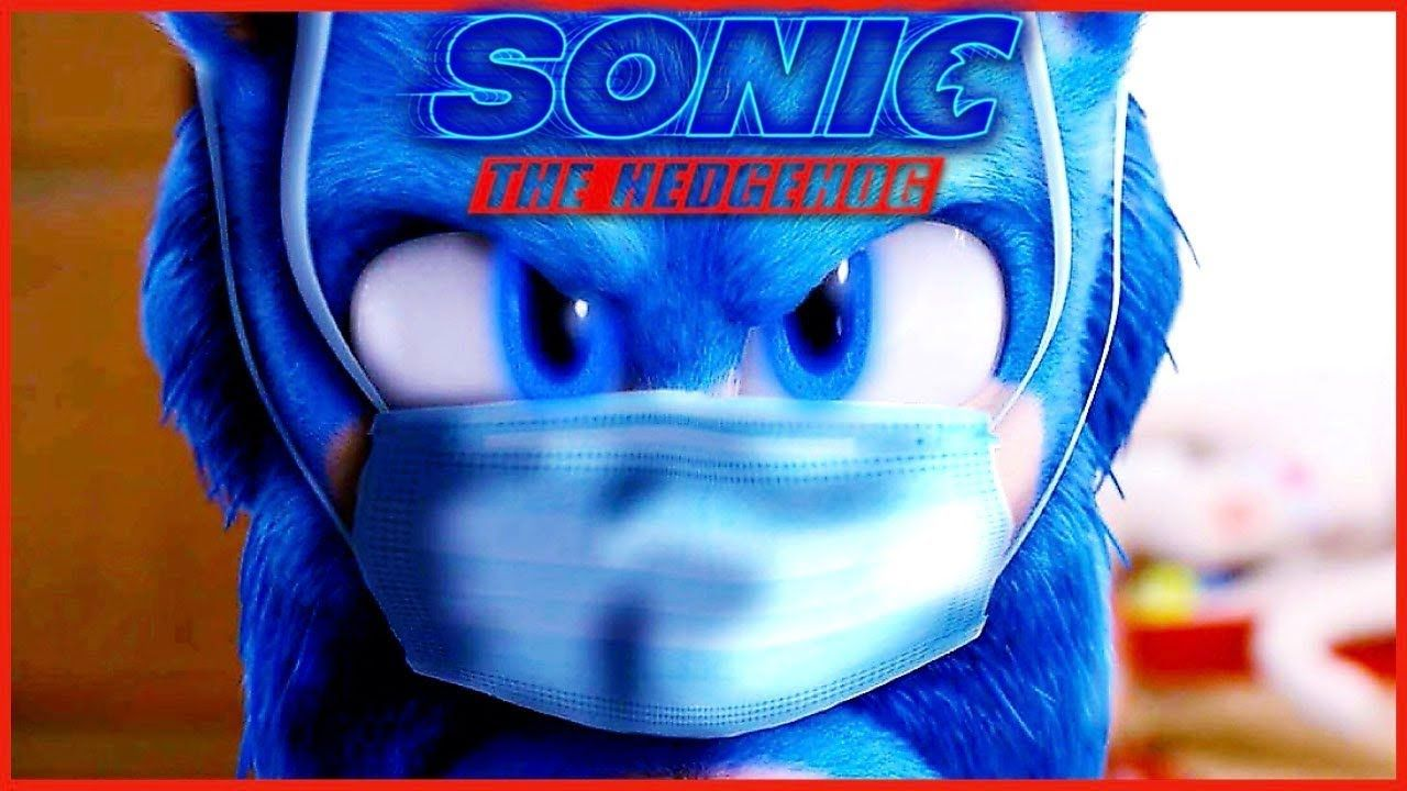 New Sonic The Hedgehog Movie Face Mask X Tails Shadow Rock