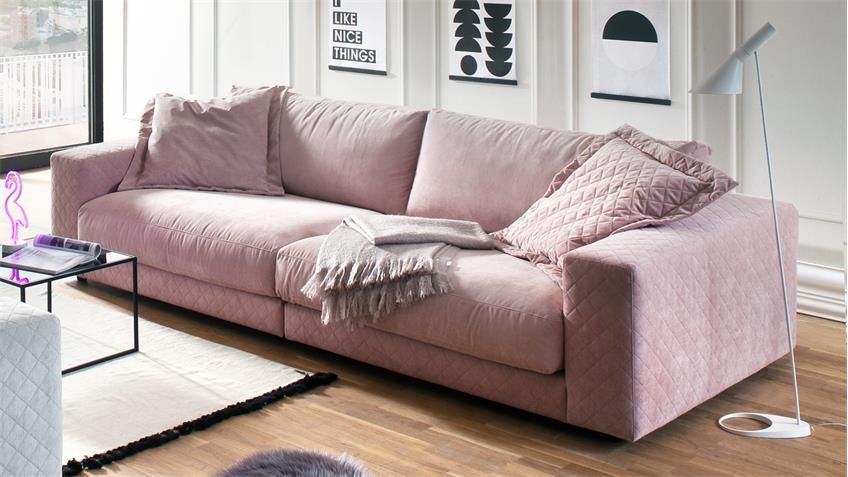 Big Sofa High Loft Megasofa Loungesofa In Stoff Rosa 290 Sofa Loft Grosse Sofas Sofa