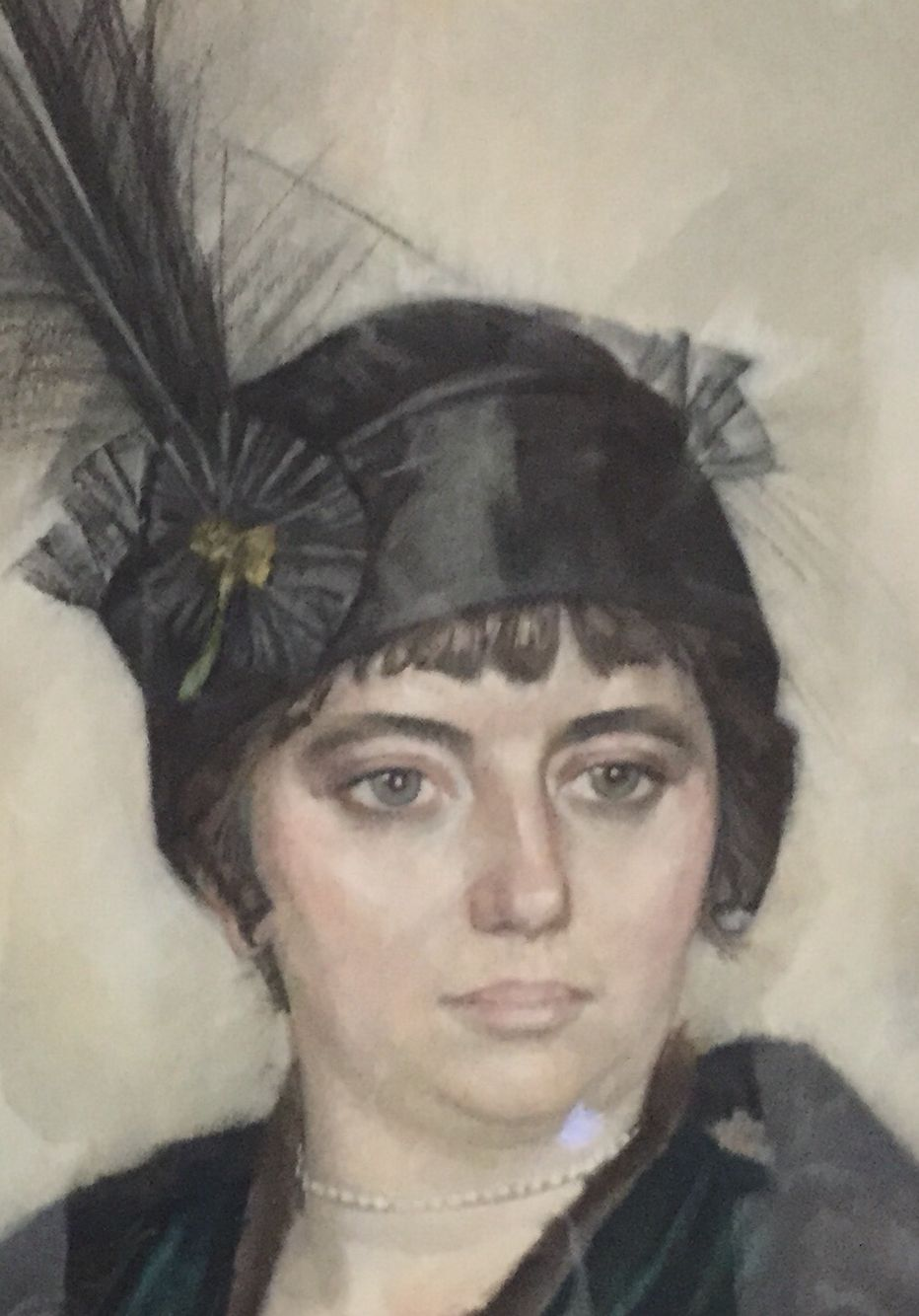Leo Gestel, pastel in paper