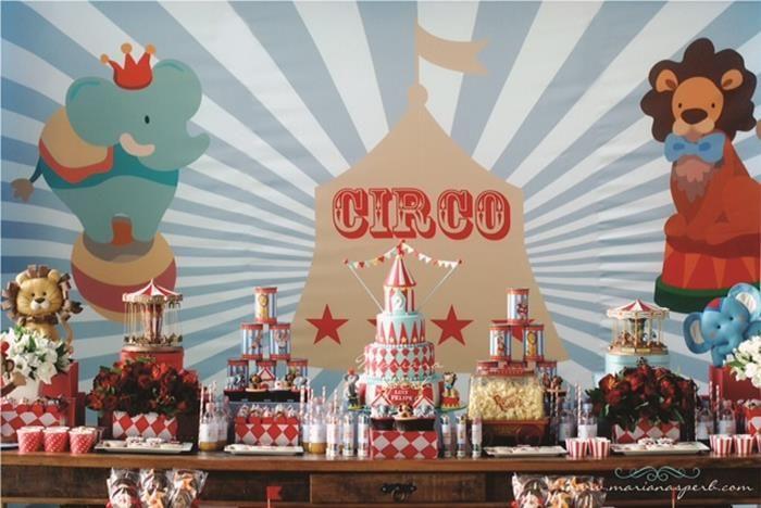 Festa Kids Circo II | Inspiração