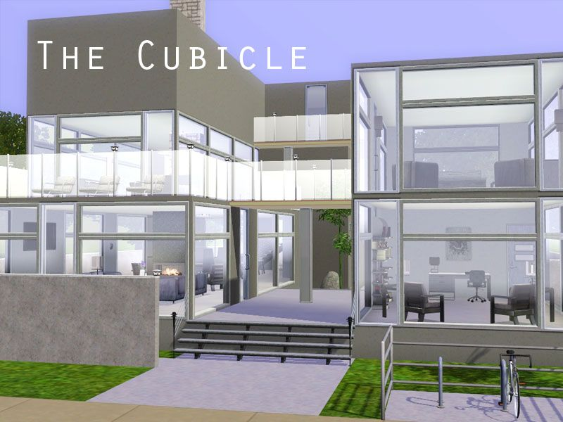 Mod The Sims - The Cubicle - A Modern Home | Simsss!!! :D ...