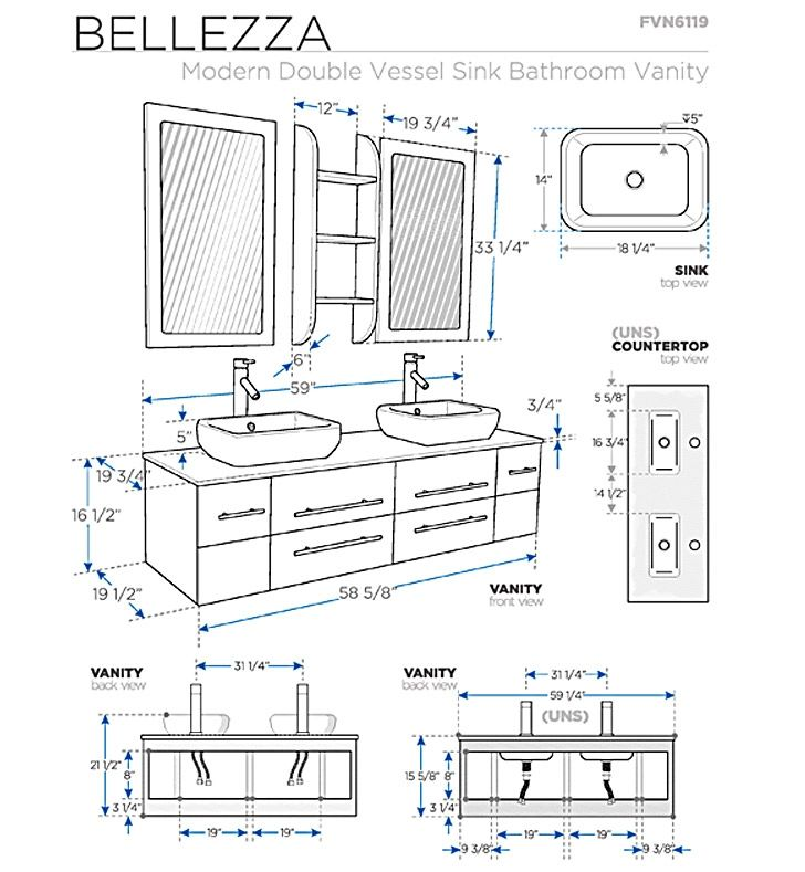 Bathroom Vanities Buy Bathroom Vanity Furniture Cabinets Rgm Distribution Bathroom Dimensions Bathroom Layout Bathroom Vanity Sizes