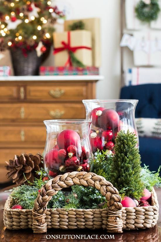 simple christmas decor ideas home tour inspiration for decorating your home for christmas in a simple and classic way festive and budget friendly - Decorating Your Home For Christmas