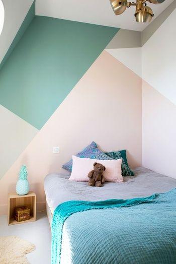 20 Façons Design De Twister Un Mur Avec De La Peinture | Murs