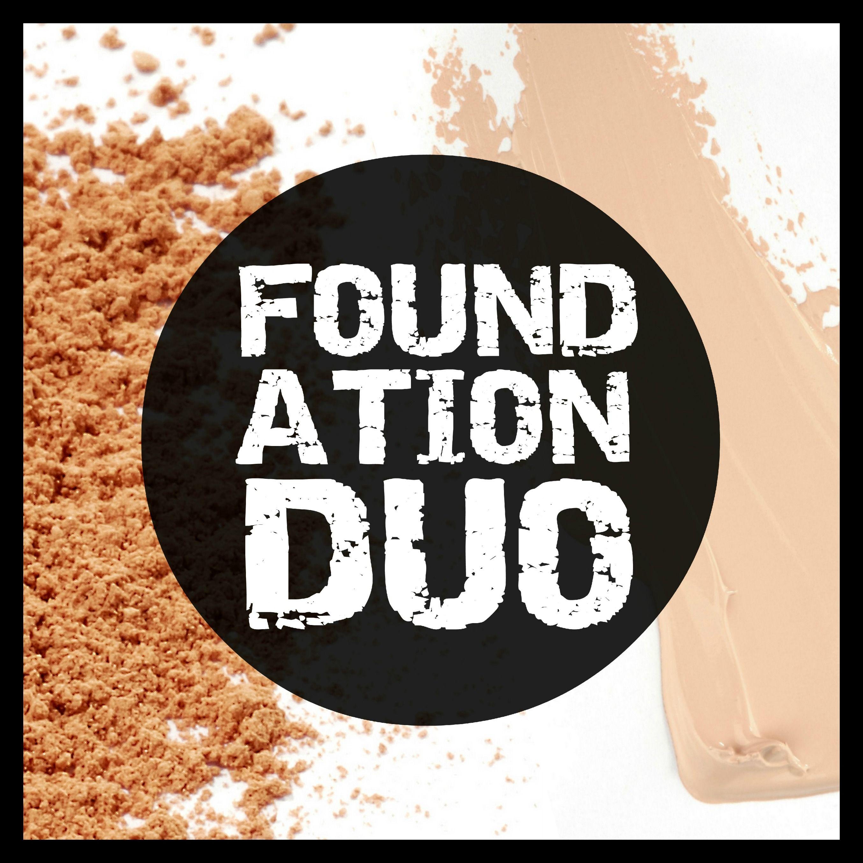 Liquid Mineral Foundation & Loose Mineral Powder Duo